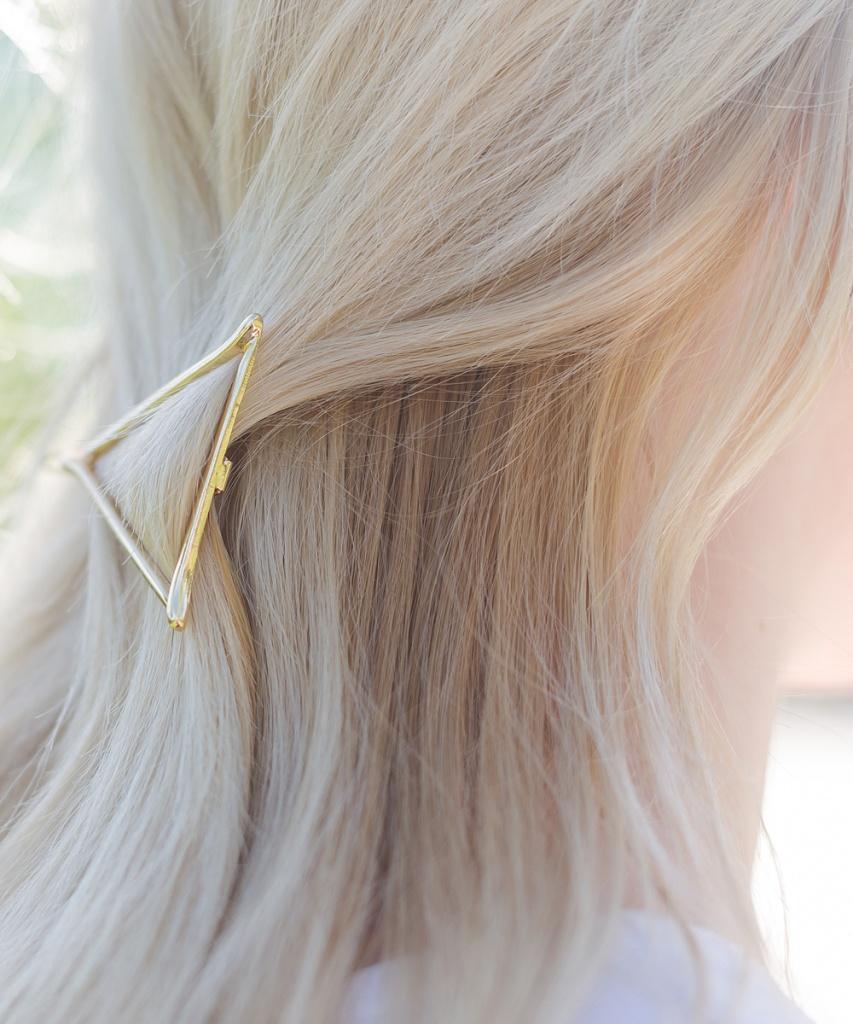 Преображение в блондинку